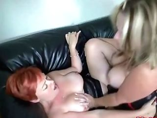 Married Lesbos Have Fun At Swingers Club