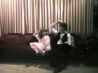 Wifey Catches Him Fucking The Skanky Youthful Blonde Honey Sitter On The Couch