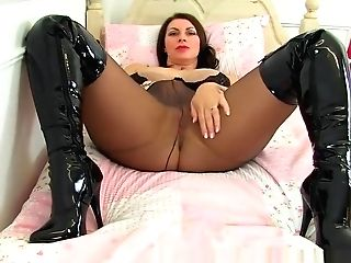 Women Sexy Stocking & Boots Part 1
