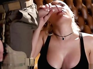 Big Boobed Stunner Got Caught And Fucked By Border Patrol
