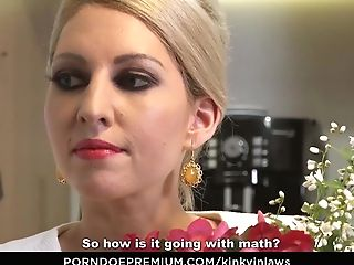 Exotic Inlaws - Stepson Gets To Please Hot Czech Stepmom