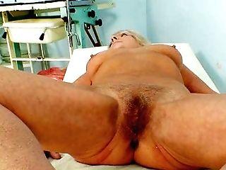 Matures Granny Dorota Gynecology Probe Check-up