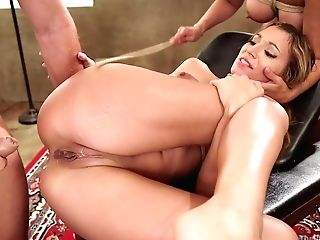 Moka Mora Caught Her Step Mommy Sucking A Big Paramour's Dick
