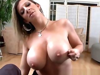 Tittyfucked Mummy Beauty Fellates Knob In Point Of View