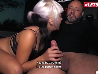 Letsdoeit - Horny German Sweethearts Rail A Matures Meatpipe In The Intercourse Bus