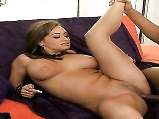 Truly Wild Sexy Whore Claudia Valentine Deep-throats Strong Big Black Cock Before Brutal Mish