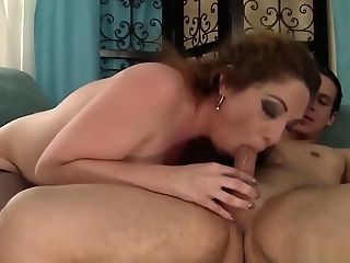 Dark Haired Cougar Gets Fucked By Freesnapmilf