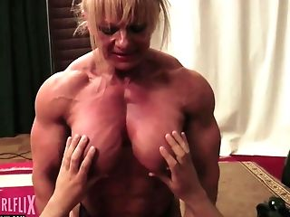 Naked Female Bodybuilder Mixed Grappling Supremacy