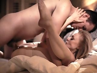 Beautiful Old Woman Nina Hartley Has An Affair With One Magnificent Man