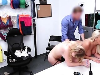 Mom And Her Shoplifting Nubile Dreamed Joy And Got Banged [hd]