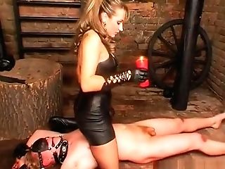 Fem Dom Obsession With Stunner Making Stud Fuck Her With Panty On