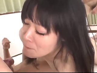 Inexperienced Yumi Tanaka Attempts A Few Dicks In The Same Time - More At 69avs.com