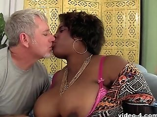 Marliese Morgan In Marlise Morgan, The Black Bbw Dick Sucker - Jeffsmodels